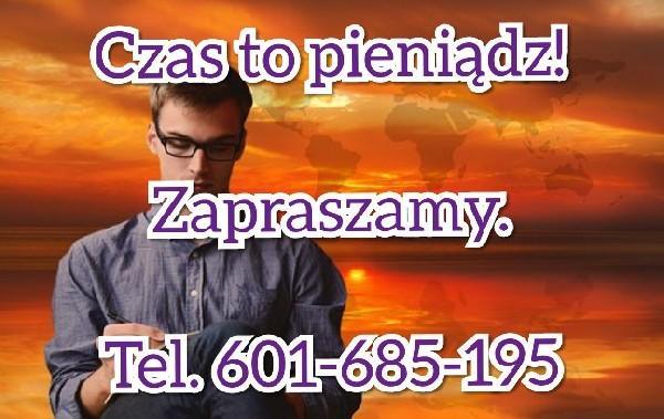 Pomoc Zadłużonym Spółkom. Tel. 601-685-195